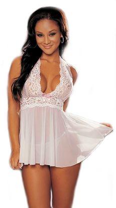 Zdjęcie Bielizna erotyczna- Krótka sukienka+ stringi gratis 0038