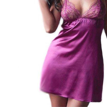 Zdjęcie Bielizna erotyczna- Koszula nocna z koronką 0082